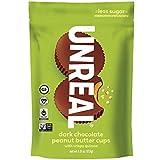UNREAL Dark Chocolate Crispy Quinoa Peanut Butter Cups - Vegan, Gluten...