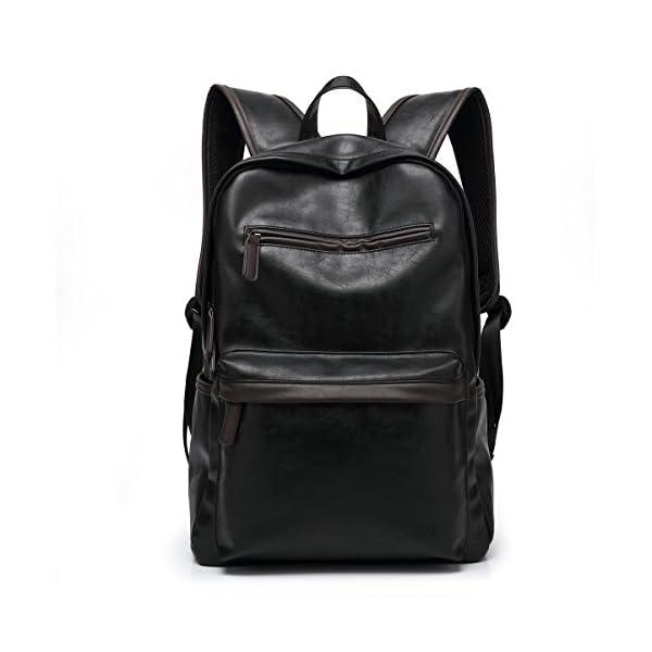 33834f8ebda92b ... CasualBAOSHA BP-09 in pelle sintetica per Computer portatile-Zaino per  la scuola. 🔍. Valigeria ...
