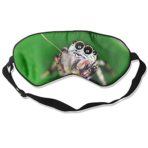 Sleep Mask Spider Eye Cover Blackout Eye Masks,Soothing Puffy Eyes,Dark Circles,Stress,Breathable Blindfold
