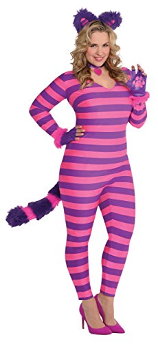 Lady Cheshire Cat Adult Costume - Plus -
