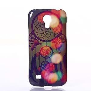 PEACH-ships in 48 hoursMultiple Aeolian Bells Pattern Silica Gel Soft Case for Samsung Galaxy S4 Mini I9190