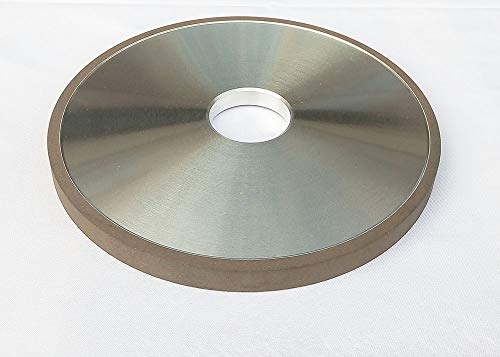 6 inch Flat Resin Bond Diamond Grinding Wheel Grit 150 Concentration 100% for Carbide Metal Hard Alloy Tungsten Steel