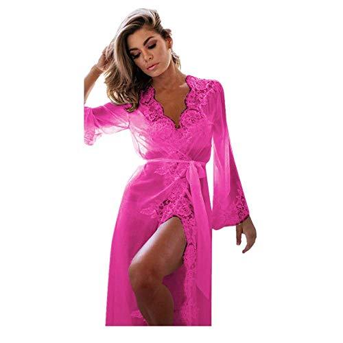 e4aece0b8 DIOMOR Women Hit Items Lingerie Babydoll Sleepwear Underwear Lace Coat  Nightwear +G-String Valentine s