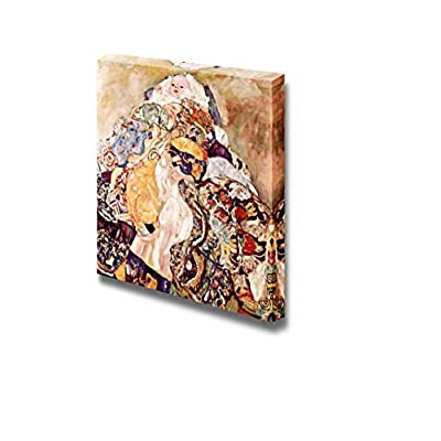 Premium Creation, Beautiful Creative Design, Baby by Gustav Klimt Print Famous Oil Painting Reproduction