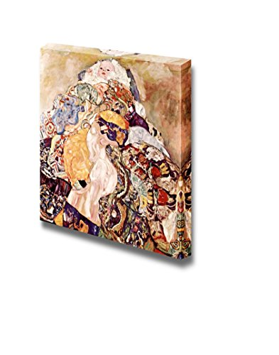 Baby by Gustav Klimt Print Famous Oil Painting Reproduction
