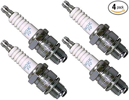 New NGK Standard Spark Plug BR7HS 4122 Set of 4 Spark Plugs