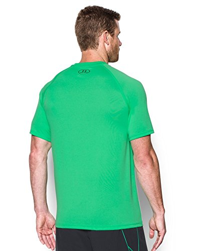 Under Armour Men's Tech Short Sleeve T-Shirt, Vapor Green /Stealth Gray, Small by Under Armour (Image #1)