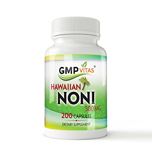 GMPVitas Noni Capsules 500mg Natural Herbal Dietary Supplement (3) by GMP Vitas