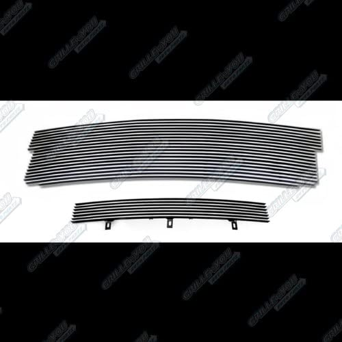 APS Compatible with 2001-2003 Ford F-150 Harley Davidson Bumper Billet Grille S18-A58358F