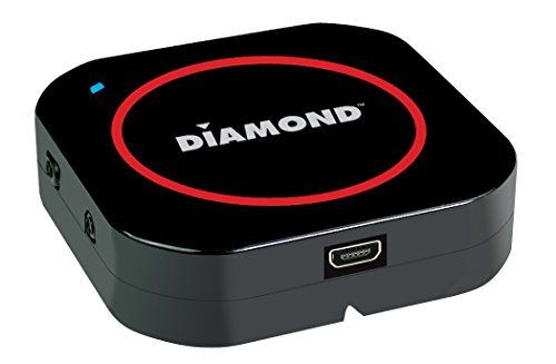 Diamond Multimedia Wireless Bluetooth Music Receiver for iPhone/Smart Phones and Tablets by Diamond Multimedia