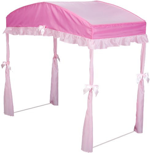 Delta Children's Girls Canopy for Toddler Bed 2