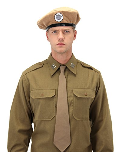 [Doctor Who Classic UNIT Beret by elope] (Matt Smith Costume)