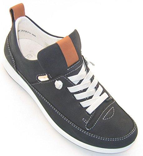 ara Tokio, Women's Low-Top Sneakers, Blau (Blau,Saddle), 6 UK (Loafers Ara Suede)