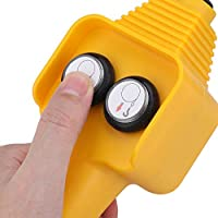 Winch Hand Control Assembly Mile Marker Yellow 76-50100-20