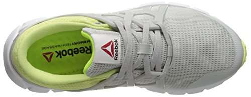 MTM Reebok 0 Zest Shoe Hexaffect Skull Lemon Solar Walking Grey Black White 4 Yellow Women's Run xXrSwXqa