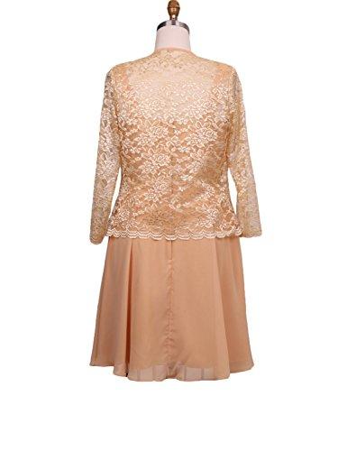 mujer Stillluxury para Vestido Vestido dorado Stillluxury 8TRrIwT