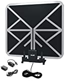 Vilso TV Antenna Outdoor Amplified - Motorized 360 Degree Rotation - Digital HDTV Antenna - 150 Miles Range - Wireless Remote (65 Mile Antenna)
