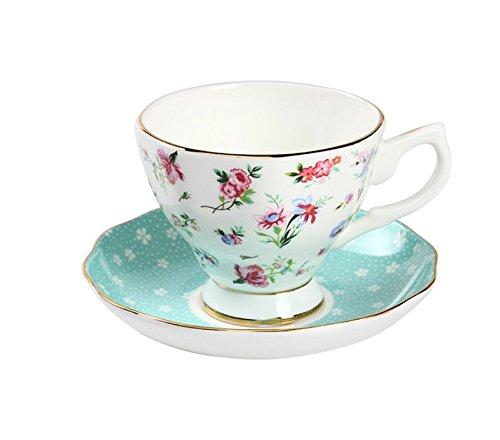 Taza de café de China de Hueso, Tazas de té, Tazas, Tazas de Ceramica par,Tres