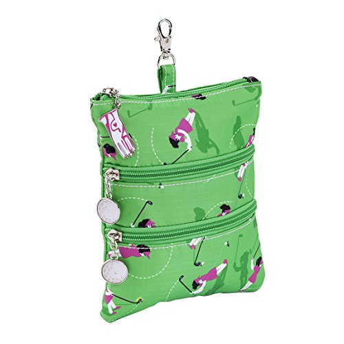Sydney Love Sport Swing Time Golf Clip On Zip Pouch, Green by Sydney Love Sport