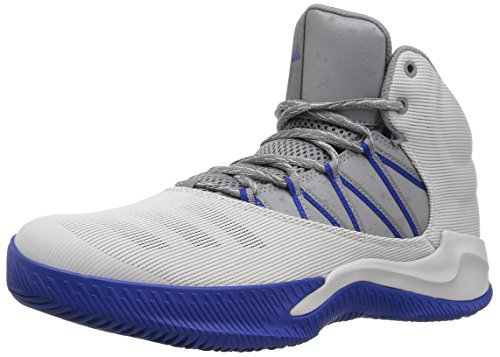 - adidas Men's Ball 365 Inspired Basketball Shoe, ONE/Grey Three/Collegiate Royal, 9.5 Medium US
