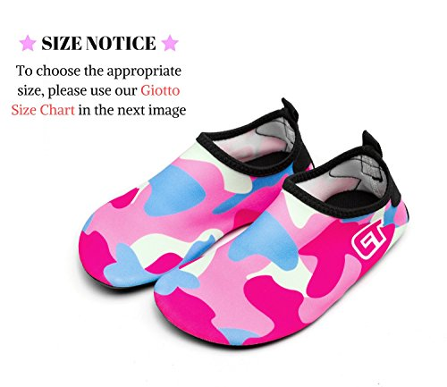 Dry Slip Shoes Giotto D1 Water Men Kids Non Quick Barefoot Women for pink Swim wUxq6Xp