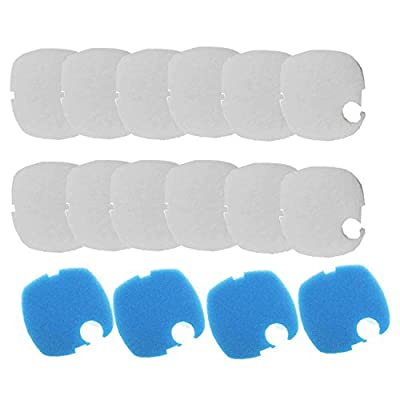 16PCS Aquarium Replacement Filter Pads for SUNSUN GRECH HW-304 HW404B