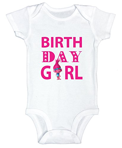 Funny Threadz Kids Funny Girls Birthday Onesie Birthday Girl - Toddler Shirt