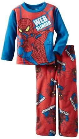 AME Sleepwear Little Boys'  Amazing Crawler 2 Pajama Set, Multi, 6