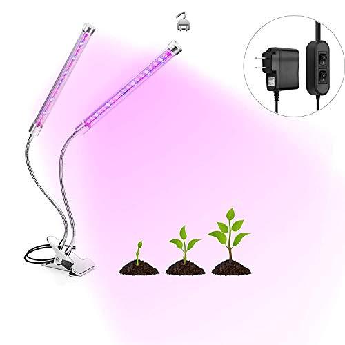 Light Three Flourescent (TekHome 36W Grow Lamp, Grow Lights for Indoor Plants, Full Spectrum LED Grow Light, Grow Lights for Seed Starting, Flourescent Grow Lights, Seedling Grow Light for Hydroponics Gardening Greenhouse.)
