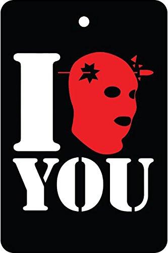 I Headshot You/Halloween Car Air Freshener]()