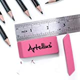 Pink Erasers Pack of 100 - Large Size, Latex