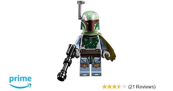 Amazoncom Lego Star Wars Boba Fett Minifigure 9496 Toys Games