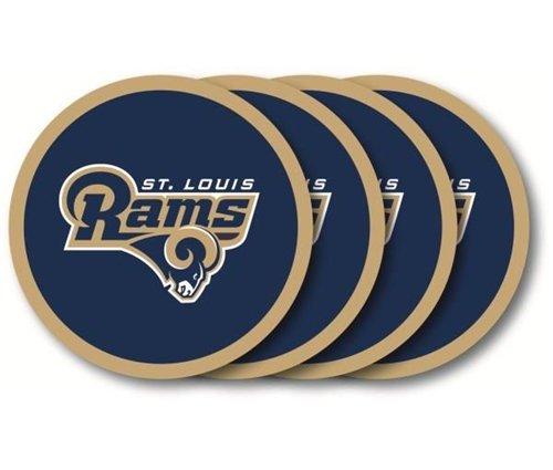 (St. Louis Rams Coaster Set - 4 Pack)