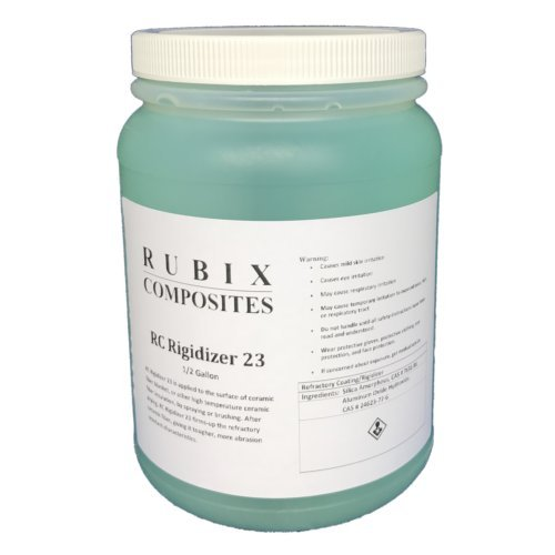 RC Rigidizer 23-1/2 Gallon - Surface Treatment for Ceramic Fiber Products by Rubix Composites