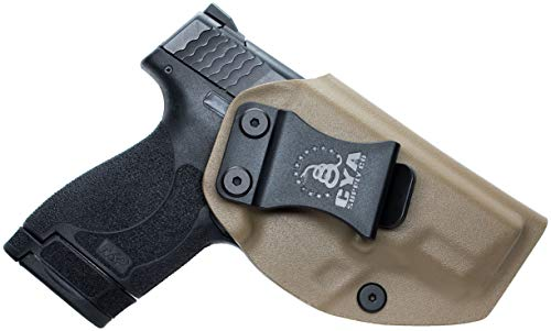 (CYA Supply Co. IWB Holster Fits: Smith & Wesson M&P Shield & Shield 2.0-9MM/.40 S&W - Veteran Owned Company - Made in USA - Inside Waistband Concealed Carry Holster)