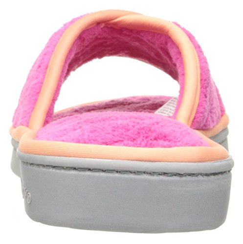 Rose Open Microfiber Wild Scuff Dearfoams Women's Terry Toe Slipper nZq8R7wx