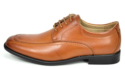 d5b5de4879b40 ... Bruno Marc DP Mens Formal Modern Classic Lace Up Leather Lined Oxford  Dress Shoes ...