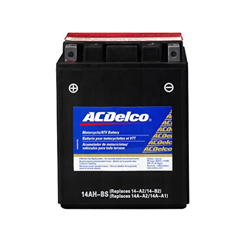 (ACDelco ATX14AHBS Specialty AGM Powersports JIS 14AH-BS Battery)