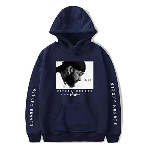 Nipsey Hussle Hoodies Rappeur américain R.I.P Jumper Hip Hop