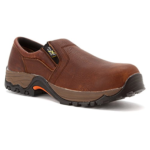 Brown Work Gore Composite McRae on Guard Met Twin Shoes Toe Brown Slip OBnTn8vqx