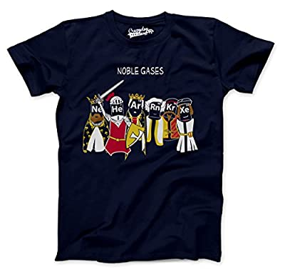Noble Gases T Shirt Funny Science Shirt Chemistry T Noble Gas