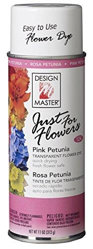 (Design Master Just for Flowers Spray Dye, Pink, 4 Piece)