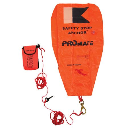 Promate Scuba Safety Float Stop Anchor Dive Marker Rescue - Gear Rescue Dive