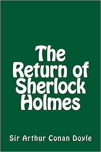 The Return Of Sherlock Holmes Pdf Ruptbercentretga