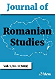 Journal of Romanian Studies: Volume 1,1 (2019)