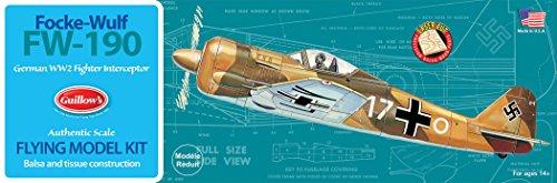 Guillow's Focke-Wulf FW-190 Model Kit
