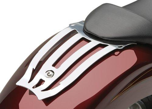 (10-14 HONDA VT1300CX: Cobra Formed Solo Luggage Rack (CHROME))