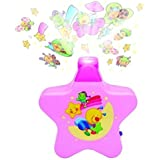 Toykart Little Angels Baby Sleep Projector With Star Light Show And Music For New Born