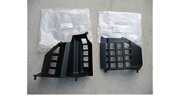 NEW Yamaha Banshee nerfs OEM factory plastic nerf bars heel guards LEFT