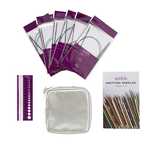 Knit Picks Fixed Circular Sock Knitting Needle Set (Caspian) (Sock Knitting Needles Circular)